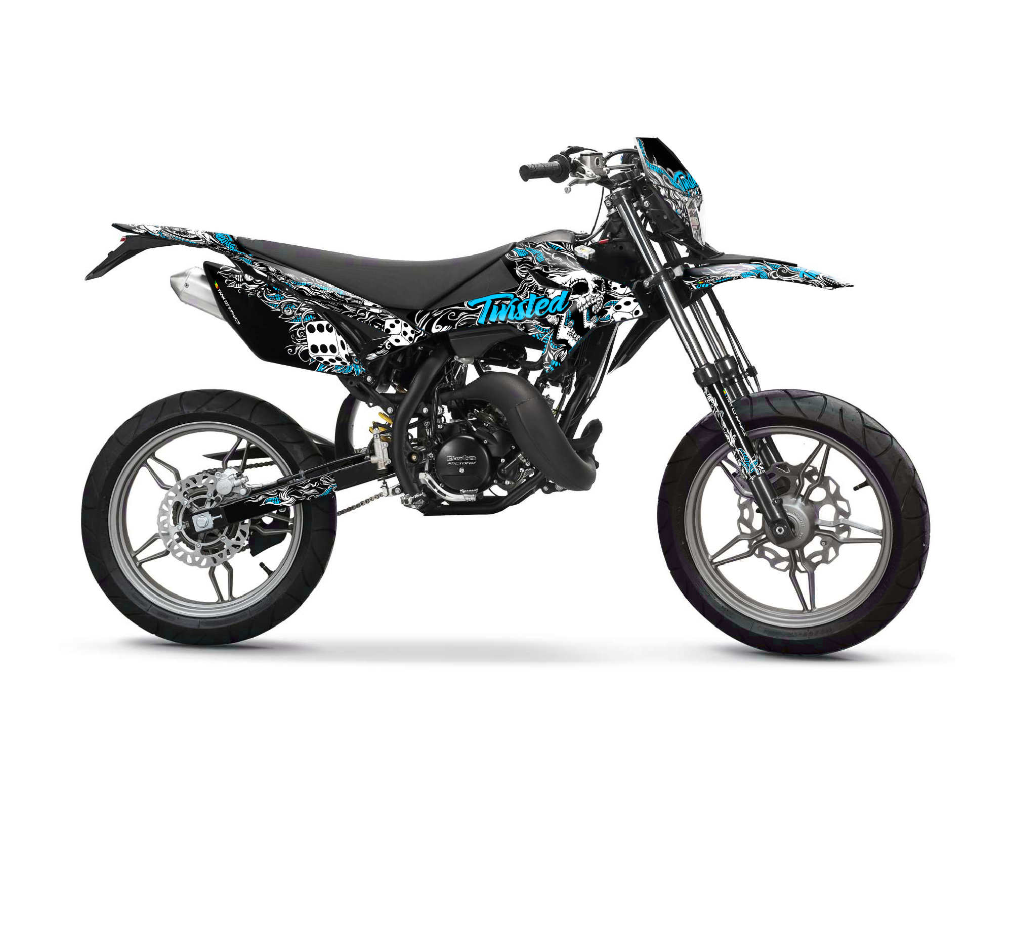 BETA RR 50 - Twisted Graphics Series